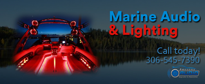 Marine audio and lighting